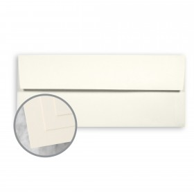 ENVIRONMENT Natural White Envelopes - No. 10 Square Flap (4 1/8 x 9 1/2) 80 lb Text Smooth  30% Recycled 500 per Box