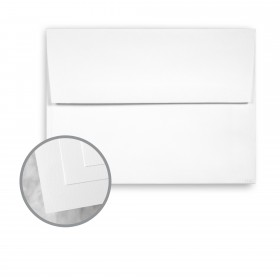ENVIRONMENT White Envelopes - A6 (4 3/4 x 6 1/2) 80 lb Text Smooth  80% Recycled 250 per Box