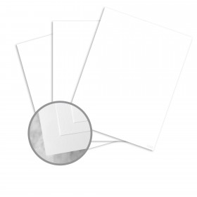 ENVIRONMENT Ultra Bright White Card Stock - 26 x 40 in 130 lb Cover DT Smooth  80% Recycled 200 per Carton