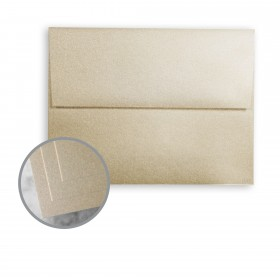 ESSE Pearlized Cocoa Envelopes - A7 (5 1/4 x 7 1/4) 80 lb Text Smooth C/2S  30% Recycled 250 per Box
