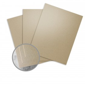 ESSE Pearlized Cocoa Paper - 25 x 38 in 80 lb Text Smooth C/2S  30% Recycled 500 per Carton