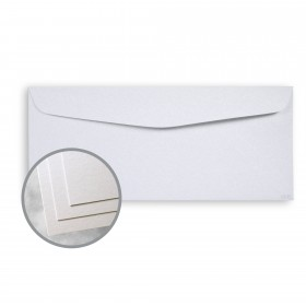 ESSE Pearlized Crystal Envelopes - No. 10 Commercial (4 1/8 x 9 1/2) 80 lb Text Smooth C/2S  30% Recycled 500 per Box