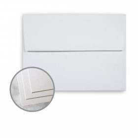ESSE Pearlized Crystal Envelopes - A2 (4 3/8 x 5 3/4) 80 lb Text Smooth C/2S  30% Recycled 250 per Box