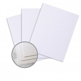 ESSE Pearlized Crystal Card Stock - 26 x 40 in 105 lb Cover Smooth C/2S  30% Recycled 250 per Carton