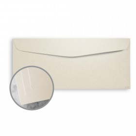 ESSE Pearlized Latte  Envelopes - No. 10 Commercial (4 1/8 x 9 1/2) 80 lb Text Smooth C/2S  30% Recycled 500 per Box