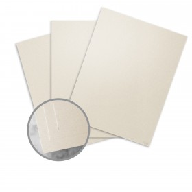ESSE Pearlized Latte Card Stock - 18 x 12 in 105 lb Cover Smooth Digital C/2S  30% Recycled 250 per Package