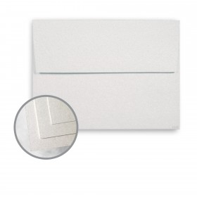 ESSE Pearlized White Envelopes - A6 (4 3/4 x 6 1/2) 80 lb Text Smooth C/2S  30% Recycled 250 per Box
