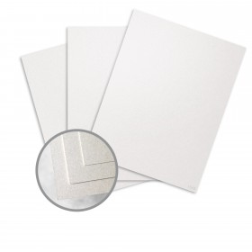 ESSE Pearlized White Card Stock - 26 x 40 in 105 lb Cover Smooth C/2S  30% Recycled 250 per Carton