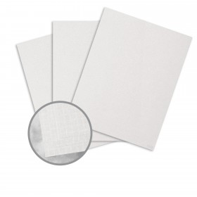 ESSE Pearlized White Card Stock - 26 x 40 in 105 lb Cover Texture C/2S  30% Recycled 250 per Carton