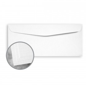 ESSE White Envelopes - No. 10 Commercial (4 1/8 x 9 1/2) 80 lb Text Texture  30% Recycled 500 per Box