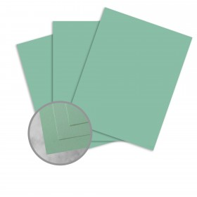 Exact Brights Bright Aqua Card Stock - 8 1/2 x 11 in 65 lb Cover Smooth 250 per Package