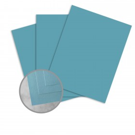 Exact Brights Bright Blue Paper - 8 1/2 x 11 in 60 lb Text Smooth 500 per Ream