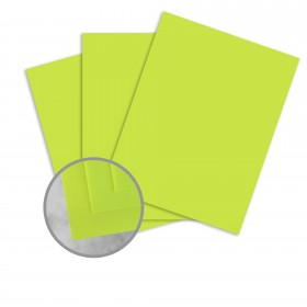 Exact Brights Bright Green Paper - 8 1/2 x 11 in 60 lb Text Smooth 500 per Ream