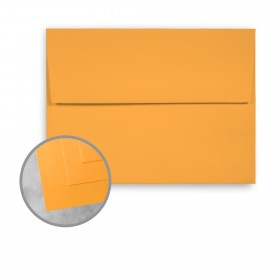 Exact Brights Bright Orange Envelopes - A7 (5 1/4 x 7 1/4) 60 lb Text Smooth 250 per Box