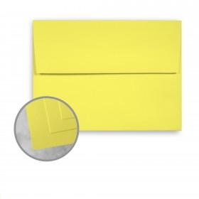 Exact Brights Bright Yellow Envelopes - A6 (4 3/4 x 6 1/2) 60 lb Text Smooth 250 per Box