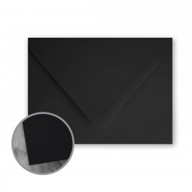 Flavours Gourmet Black Truffle Envelopes - A6 (4 3/4 x 6 1/2) 70 lb Text Smooth 25 per Box
