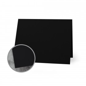 Flavours Gourmet Black Truffle Folded Cards - A7 (5 1/8 x 7 folded) 12 pt Cover Smooth 250 per Carton