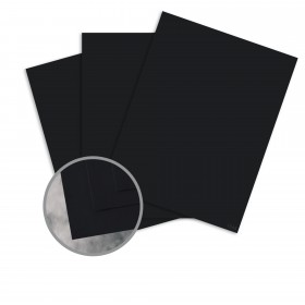 Flavours Gourmet Black Truffle Card Stock - 8 1/2 x 11 in 12 pt Cover Smooth 250 per Carton
