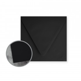Flavours Gourmet Black Truffle Envelopes - No. 6 1/2 Square (6 1/2 x 6 1/2) 70 lb Text Smooth 250 per Carton