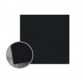 Flavours Gourmet Black Truffle Flat Cards - No. 5 1/2 Square (5 1/2 x 5 1/2) 12 pt Cover Smooth 25 per Box