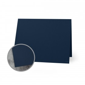 Flavours Gourmet Candied Blue Violet Folded Cards - A7 (5 1/8 x 7 folded) 12 pt Cover Smooth 250 per Carton