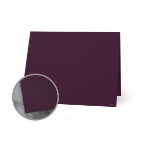 Flavours Gourmet Cabernet Folded Cards - A1 (3 1/2 x 4 7/8 folded) 12 pt Cover Smooth 25 per Box
