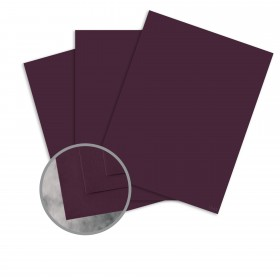 Flavours Gourmet Cabernet Card Stock - 8 1/2 x 11 in 12 pt Cover Smooth 25 per Package