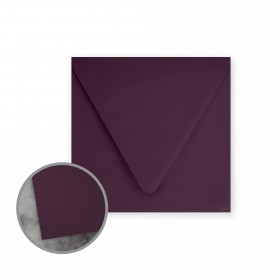 Flavours Gourmet Cabernet Envelopes - No. 5 3/4 Square (5 3/4 x 5 3/4) 70 lb Text Smooth 25 per Box