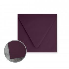 Flavours Gourmet Cabernet Envelopes - No. 6 1/2 Square (6 1/2 x 6 1/2) 70 lb Text Smooth 25 per Box