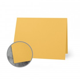 Flavours Gourmet Carmelized Mustard Folded Cards - A7 (5 1/8 x 7 folded) 12 pt Cover Smooth 250 per Carton