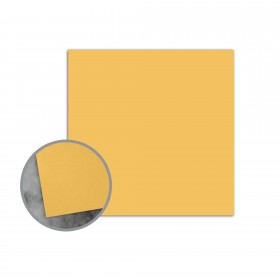 Flavours Gourmet Carmelized Mustard Flat Cards - No. 5 1/2 Square (5 1/2 x 5 1/2) 12 pt Cover Smooth 25 per Box