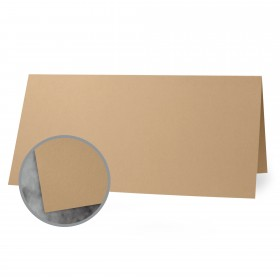 Flavours Gourmet Chestnut Creme Folded Cards - A6 (4 5/8 x 6 1/4 folded) 12 pt Cover Smooth 25 per Box