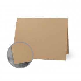 Flavours Gourmet Chestnut Creme Folded Cards - A2 (4 1/4 x 5 1/2 folded) 12 pt Cover Smooth 25 per Box