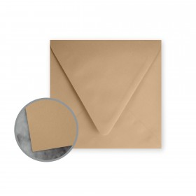 Flavours Gourmet Chestnut Creme Envelopes - No. 6 1/2 Square (6 1/2 x 6 1/2) 70 lb Text Smooth 25 per Box