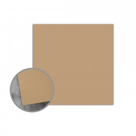 Flavours Gourmet Chestnut Creme Flat Cards - No. 5 1/2 Square (5 1/2 x 5 1/2) 12 pt Cover Smooth 25 per Box