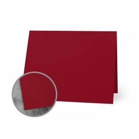 Flavours Gourmet Chili Arbol Folded Cards - A1 (3 1/2 x 4 7/8 folded) 12 pt Cover Smooth 250 per Carton