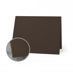 Flavours Gourmet Moroccan Cocoa Folded Cards - A1 (3 1/2 x 4 7/8 folded) 12 pt Cover Smooth 25 per Box