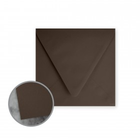 Flavours Gourmet Moroccan Cocoa Envelopes - No. 5 3/4 Square (5 3/4 x 5 3/4) 70 lb Text Smooth 25 per Box