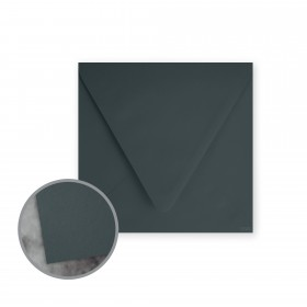 Flavours Gourmet Squid Ink Envelopes - No. 6 1/2 Square (6 1/2 x 6 1/2) 70 lb Text Smooth 25 per Box