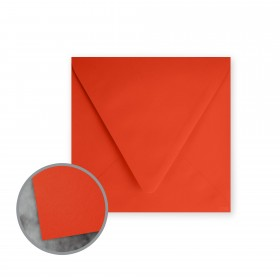 Flavours Gourmet Tangelo Envelopes - No. 5 3/4 Square (5 3/4 x 5 3/4) 70 lb Text Smooth 25 per Box