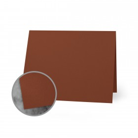 Flavours Gourmet Toasted Nutmeg Folded Cards - A2 (4 1/4 x 5 1/2 folded) 12 pt Cover Smooth 25 per Box
