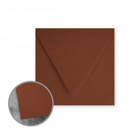 Flavours Gourmet Toasted Nutmeg Envelopes - No. 6 1/2 Square (6 1/2 x 6 1/2) 70 lb Text Smooth 25 per Box