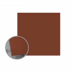 Flavours Gourmet Toasted Nutmeg Flat Cards - No. 5 1/2 Square (5 1/2 x 5 1/2) 12 pt Cover Smooth 25 per Box