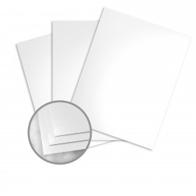 Futura White Paper - 18 x 12 in 100 lb Text Gloss C/2S 500 per Ream