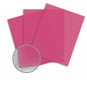 Glama Natural Blush Paper - 8 1/2 x 11 in 27 lb Bond Translucent Vellum 500 per Ream