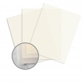 Glama Natural Ivory Paper - 8 1/2 x 11 in 27 lb Bond Translucent Vellum 500 per Ream