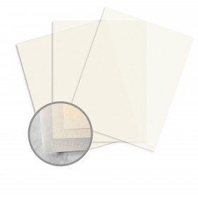 Glama Natural Ivory Paper - 27 1/2 x 39 3/8 in 27 lb Bond Translucent Vellum 125 per Package