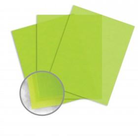 Glama Natural Kiwi Paper - 8 1/2 x 11 in 27 lb Bond Translucent Vellum 500 per Ream