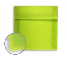 Glama Natural Kiwi Envelopes - No. 8 1/2 Square (8 1/2 x 8 1/2) 27 lb Bond Translucent Vellum 250 per Box
