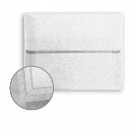 Glama Natural Parchment White Envelopes - A7 (5 1/4 x 7 1/4) 29 lb Bond Translucent Vellum 250 per Box